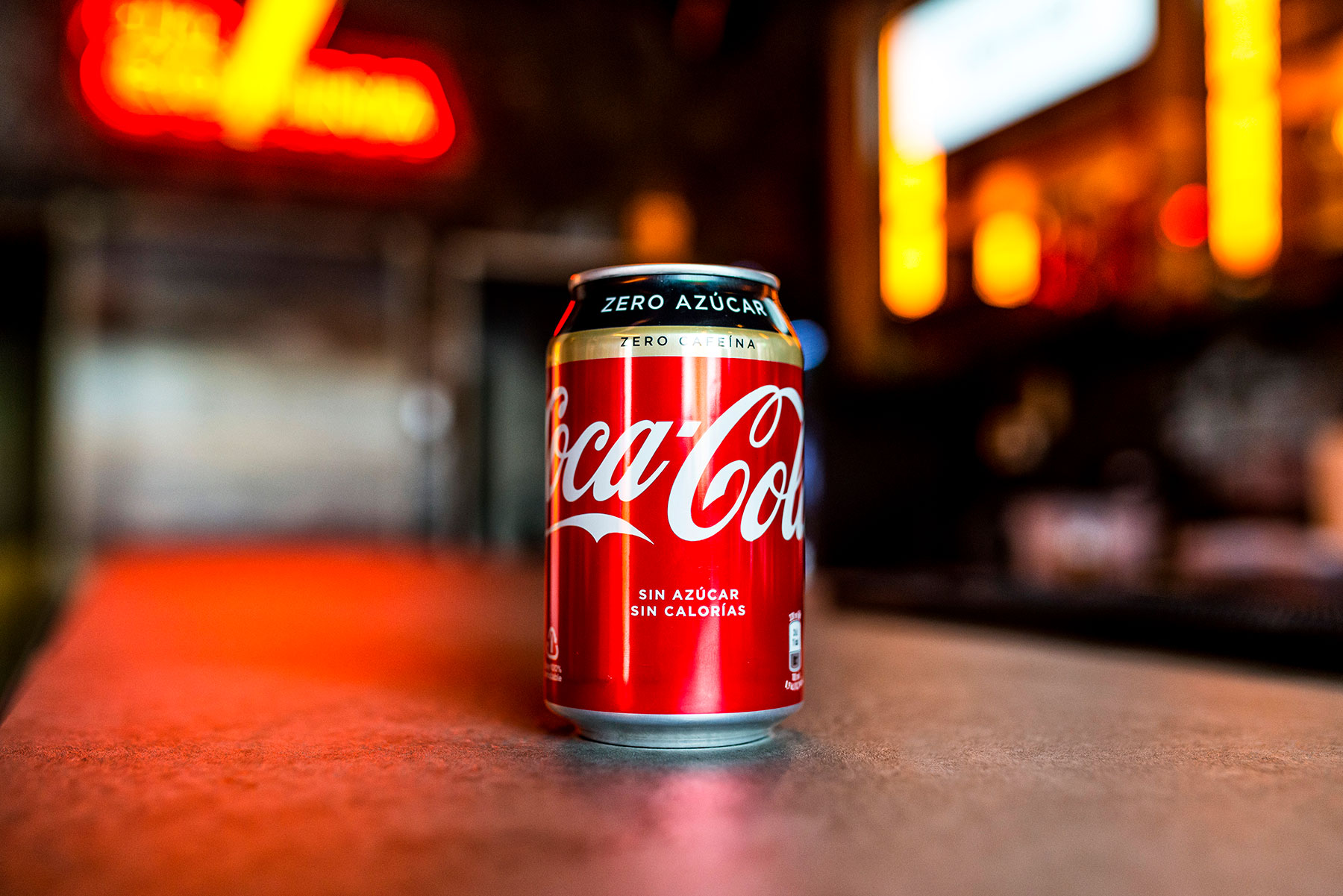 Coca Zero Sin Cafeína