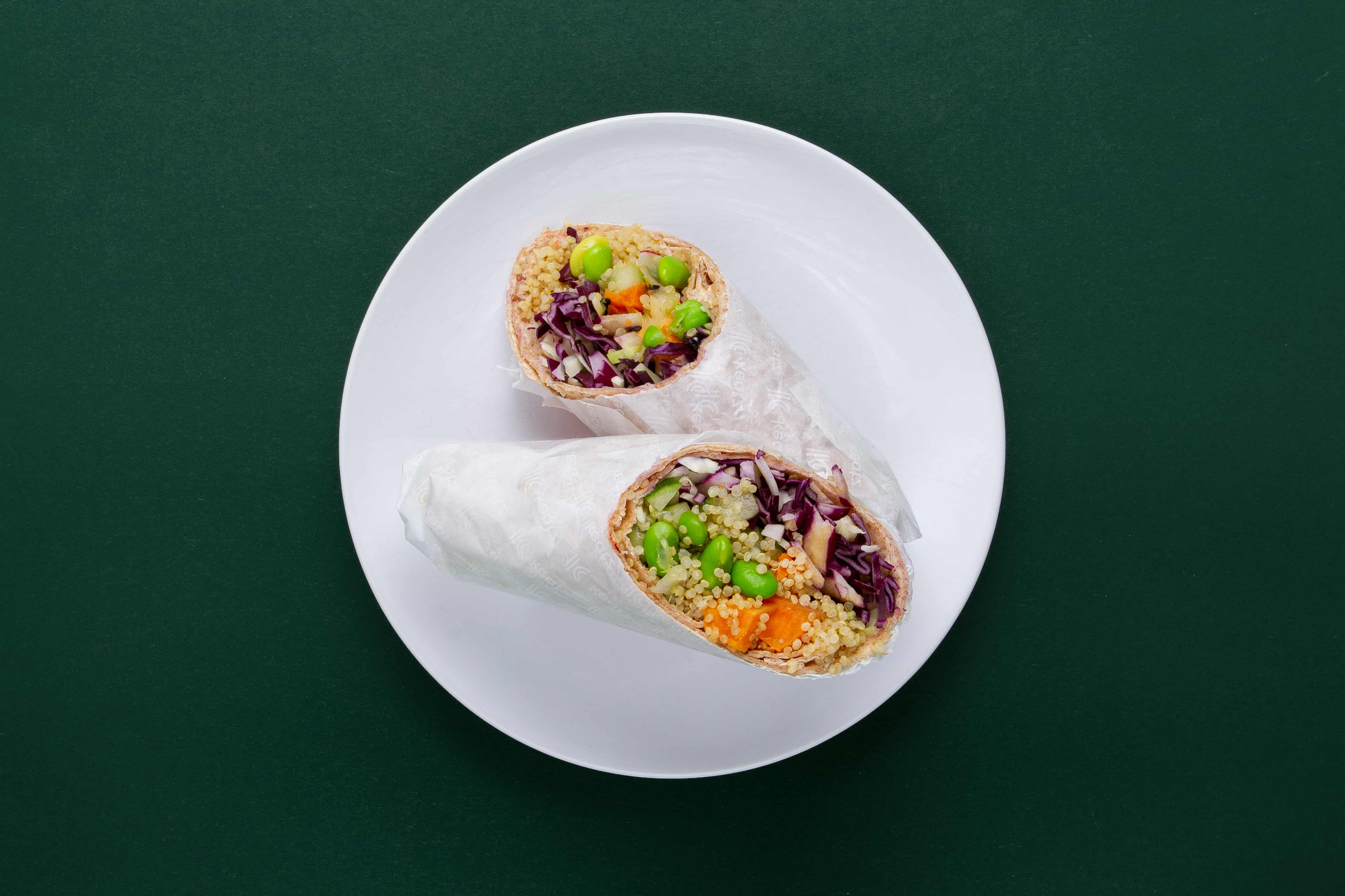 Crunchy Korean Wrap