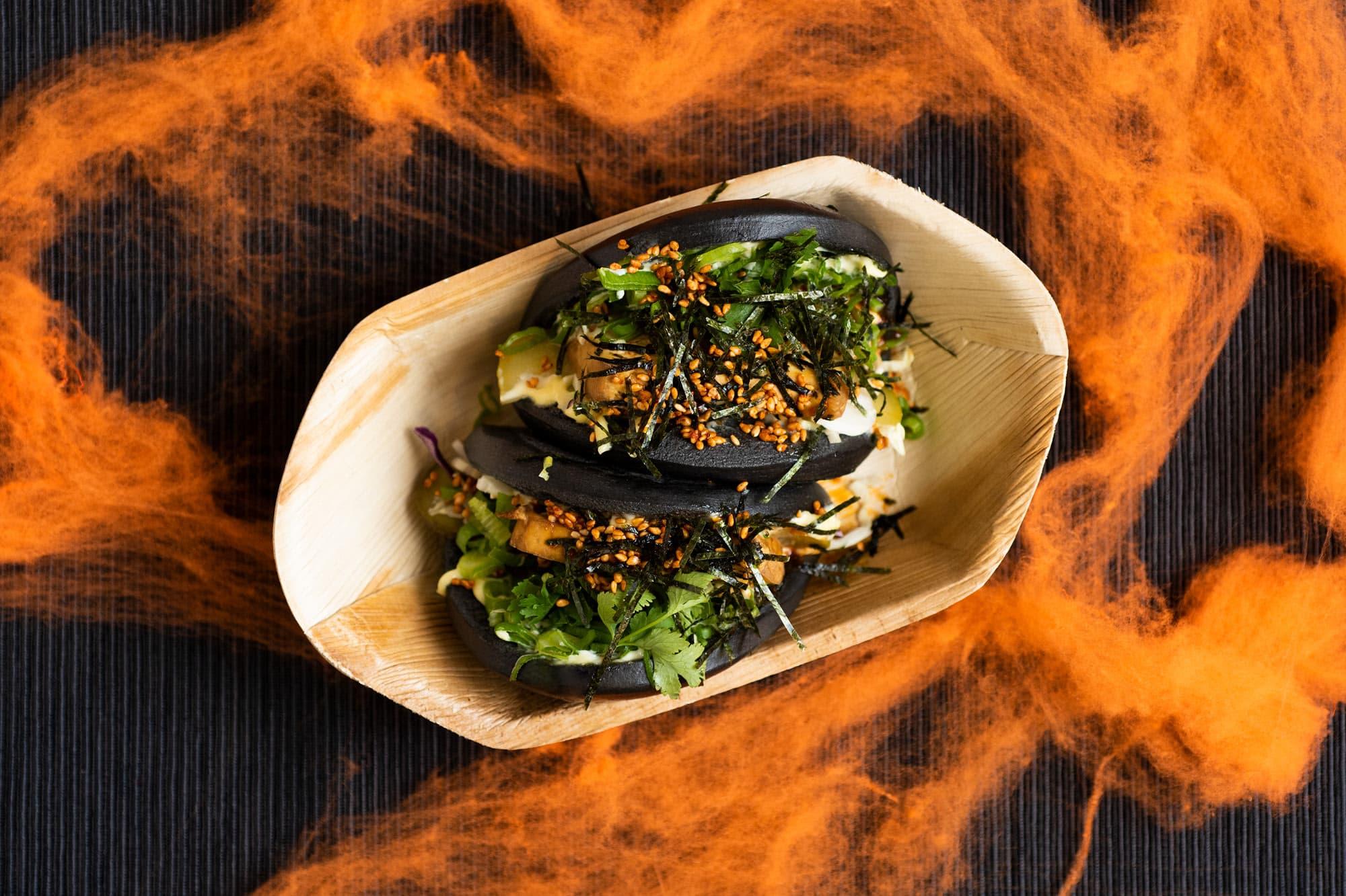 Tofu Dark Bao