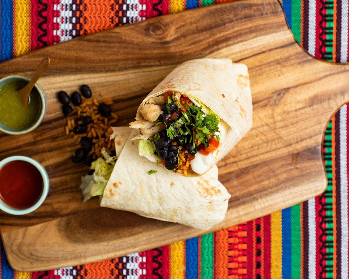 Pollo Vegan Outlaw Burrito